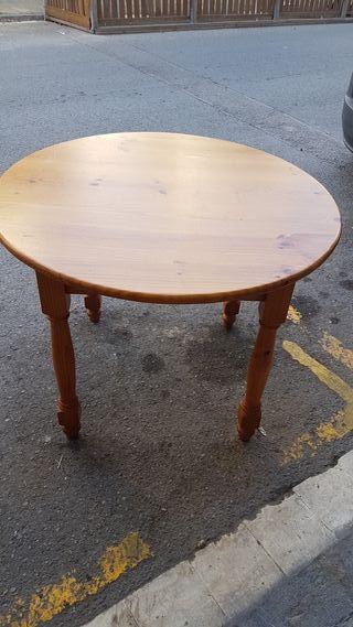 mesa redonda pino provenzal