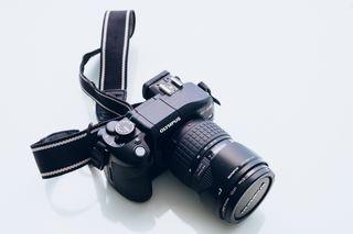 Olympus E330 + 14-54mm + 40-150mm