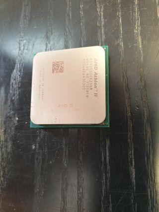 Procesador AMD Athlon II AM3 y su disipador