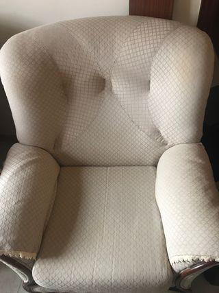 Sillón y dos sillones
