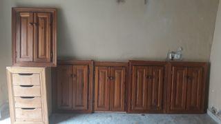 5 frontales de cocina madera