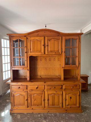 Mueble rustico de pino mazizo