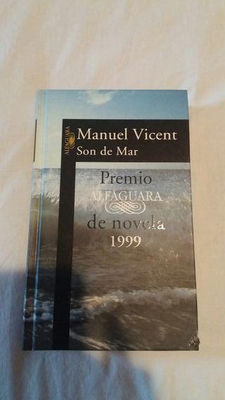 Libro Son de Mar. Manuel Vicent. ENVÍO GRATIS HOY!