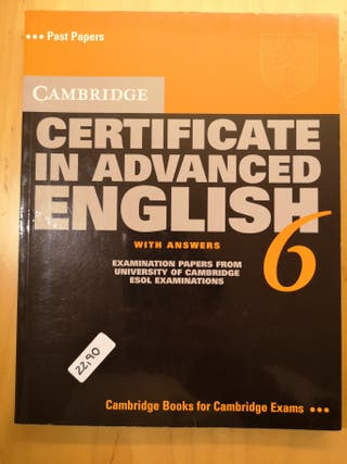 Certificate in advanced English 6, with answers