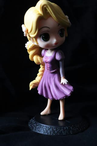 Figura de Qposket de Rapunzel
