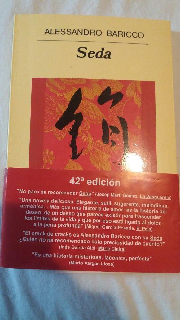 Libro Seda. Alessandro Baricco. ENVÍO GRATIS HOY!!