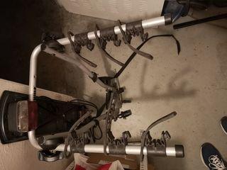 Portabicicletas porta bicis thule sobre bola