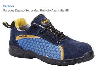 Zapatillas de seguidad marca paredes nuevas n:42
