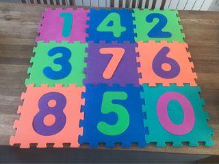 Alfombra puzzle foam goma