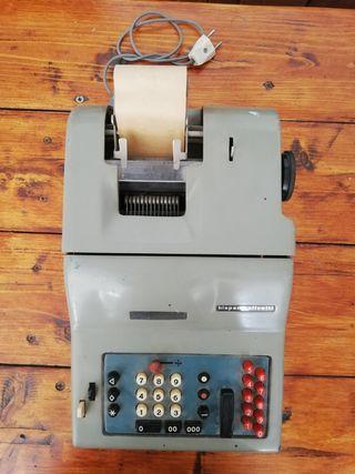 maquina de contabilidad Olivetti antigua
