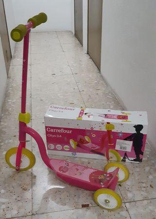 Patinete infantil de 3 ruedas