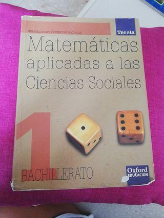 Libro de texto Matemáticas aplicadas a las CCSS.
