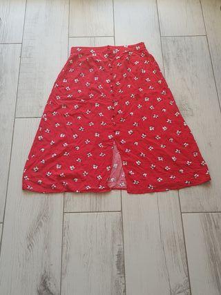 Falda midi para verano