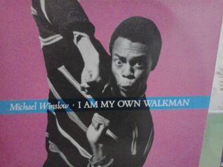 Disco de vinilo Michael Winslow - I am my own...