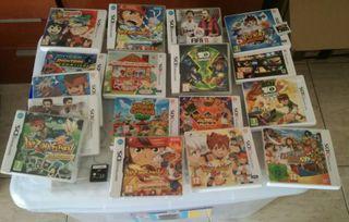 Juegos de Nintendo 3ds la mayoría.