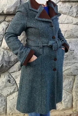 Abrigo lana Talla 42