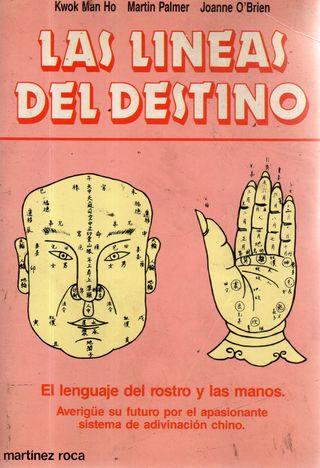 LIBRO LAS LINEAS DEL DESTINO DE KWOK MAN HO MARTIN