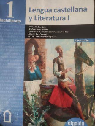Libro de Lengua 1°Bachillerato Algaida