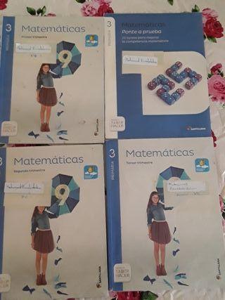 Libros 3° de primaria.
