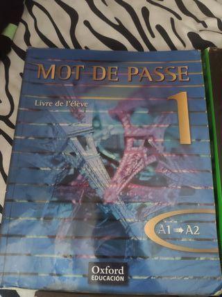 Libro 1°Bachillerato Francés, Oxford