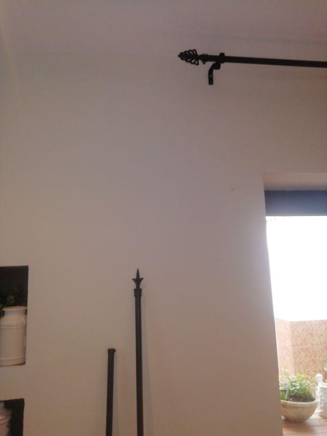 conjunto 3 barras de cortina