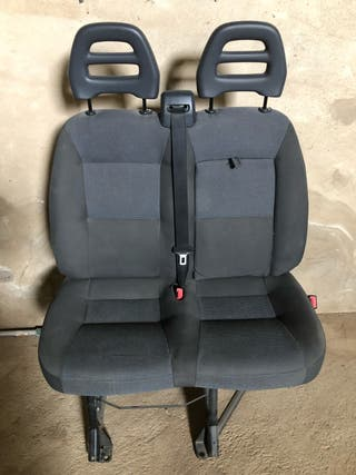Asiento fiat ducato doble impecable