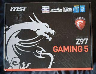 Placa base MSI Z97 GAMING 5