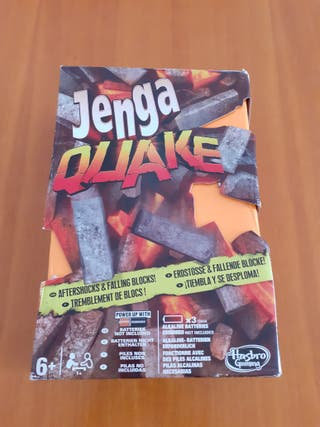 Jenga Quake - Juego de Mesa - Hasbro Gaming