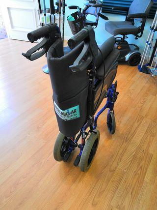 Silla de ruedas manual reducida plegable