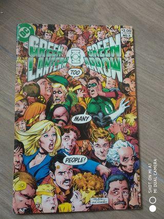 Comic DC Green Lantern/Green Arrow