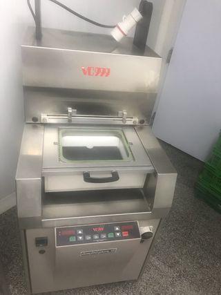 Termoselladora semi automatica al vacío