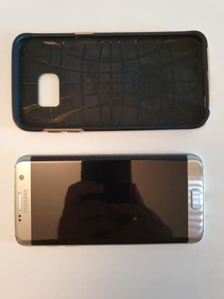 Samsung s7 Edge32 GB plata + Acesorios