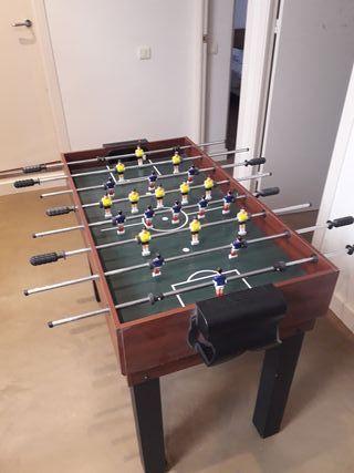 mesa multijuegos 12x 1: de billar, futbolín y 12
