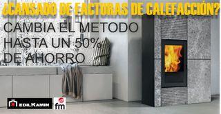 APROVECHA Y AHORRA HASTA UN 50 % EN CALEFACCIÓN.