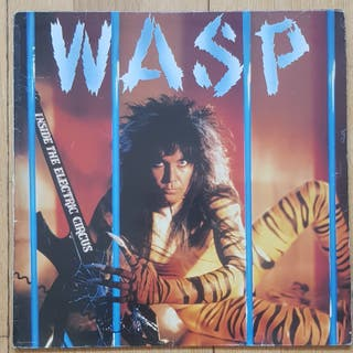 Wasp inside the electric circus lp
