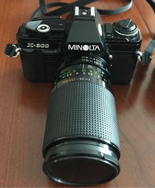 Cámara RÉFLEX ANALÓGICA MINOLTA X-300