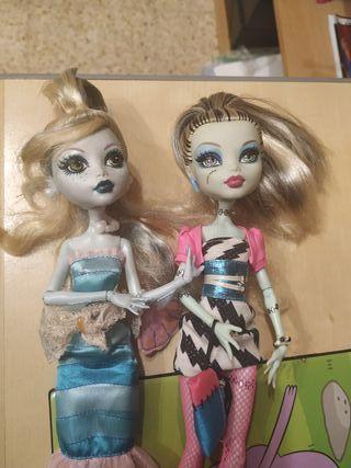 Monster High Lagoona y Frankie piezas o OOAK