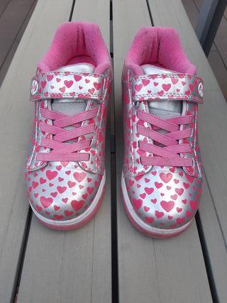 Zapatillas Heelys Silverhearts