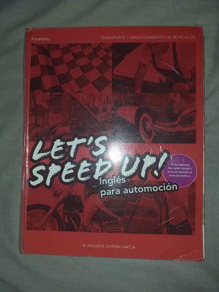 libro de inglés para Automocion