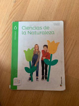 Libro de ciencia de la naturaleza