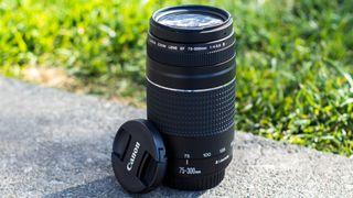 Lente Canon 75-300 en excelente estado