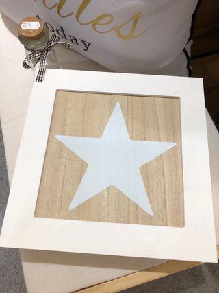 Caja madera infusión estrella