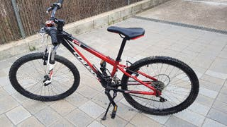 bicicleta btt coluer niño 24 pulgadas