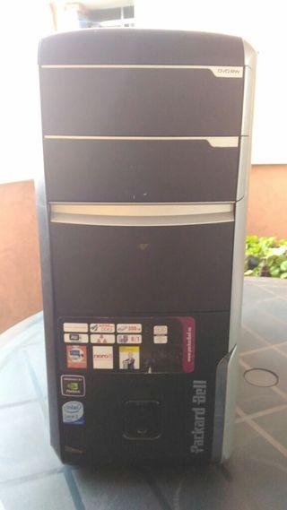 Caja sobremesa para pc Packard Bell