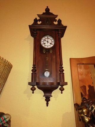 Precioso reloj antiguo de pared
