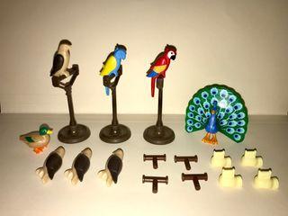 Playmobil ave halcón cetrero pavo