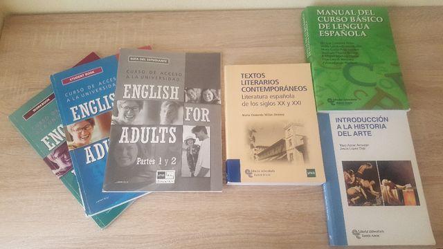 Libros UNED prueba acceso Universidad +25