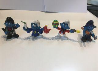Figuras Pitufos originales Difíciles de conseguir