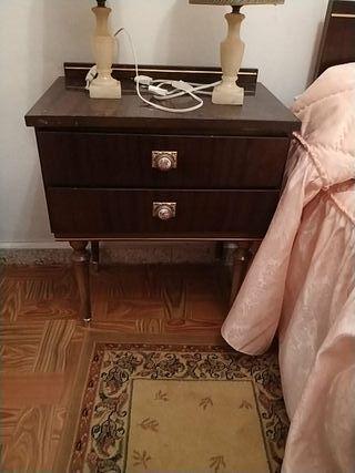 habitación vintage completa
