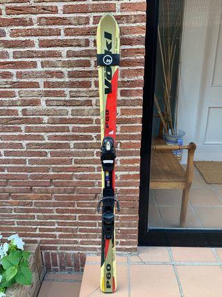 Tablas esquí Volkl modelo P60 de 140 cm
